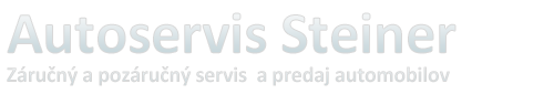 Autoservis Steiner – Rimavská Sobota
